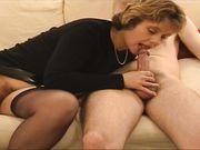 Kåt fru älskar analsex
